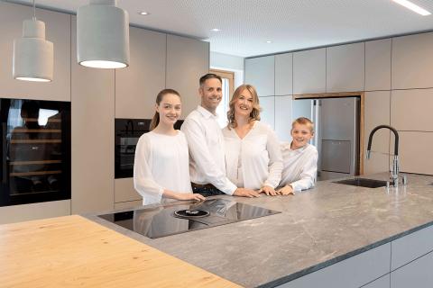2019: Familie Josef Markus & Daniela Lachmayr mit Emma Grace und Noah Benedikt